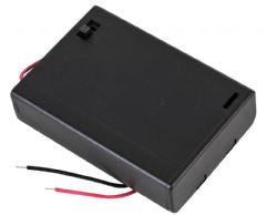 PRO POWER PP002105  Battery Box, 3X Aa, Switched, Wired